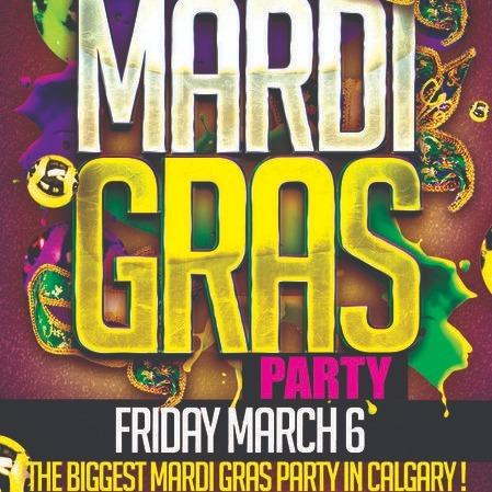 CALGARY MARDI GRAS PARTY 2020 @ MUSIC NIGHTCLUB | OFFICIAL MEGA PARTY!