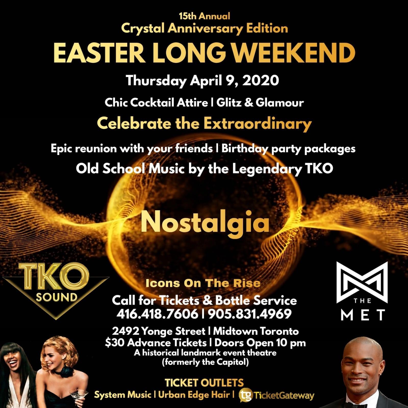 TKO Nostalgia Easter 2020