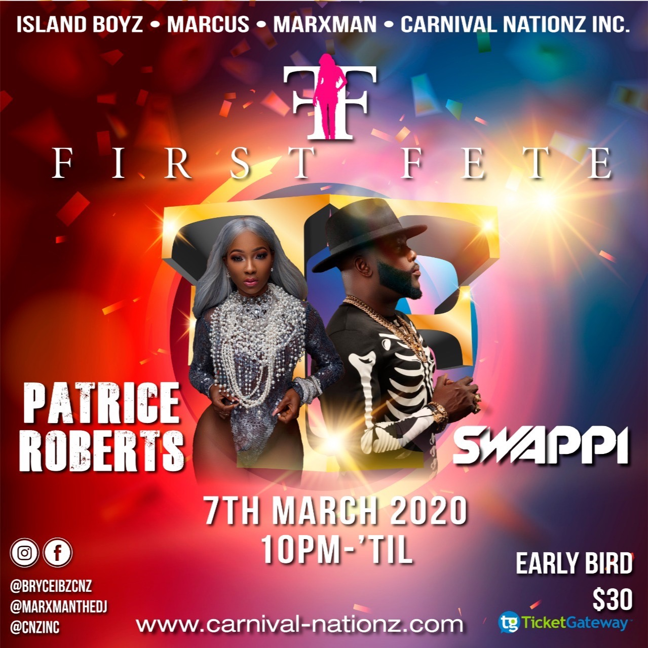 FIRST FETE