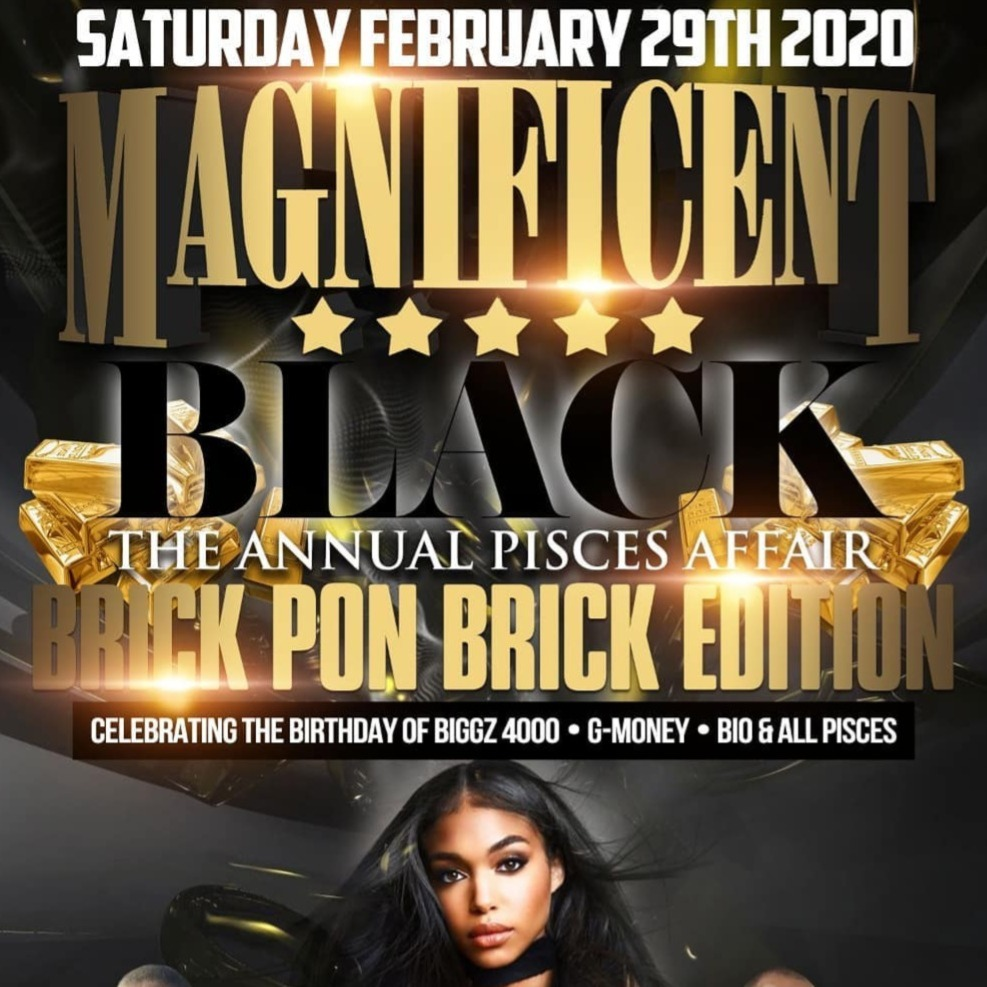 Magnificent Black  – Brick Pon Brick Edition  2020