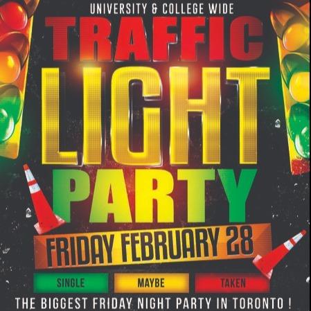 TRAFFIC LIGHT PARTY @ FICTION NIGHTCLUB | FRIDAY FEB 28TH