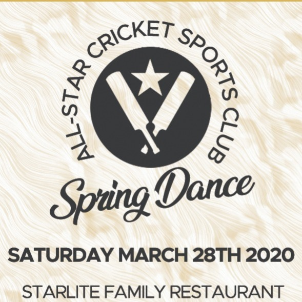 All-Star Cricket Sports Club Spring Dance