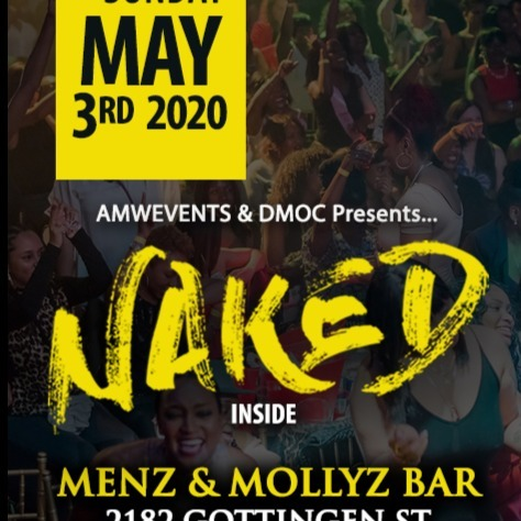AMW - Naked-Halifax Menz & Mollyz Bar