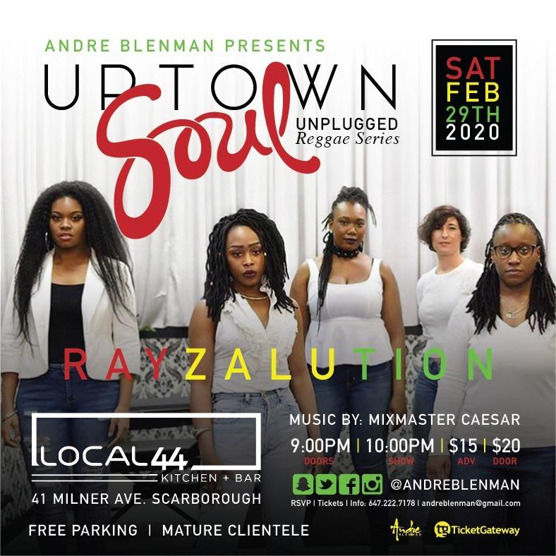 Uptown Soul Ft Rayzalution
