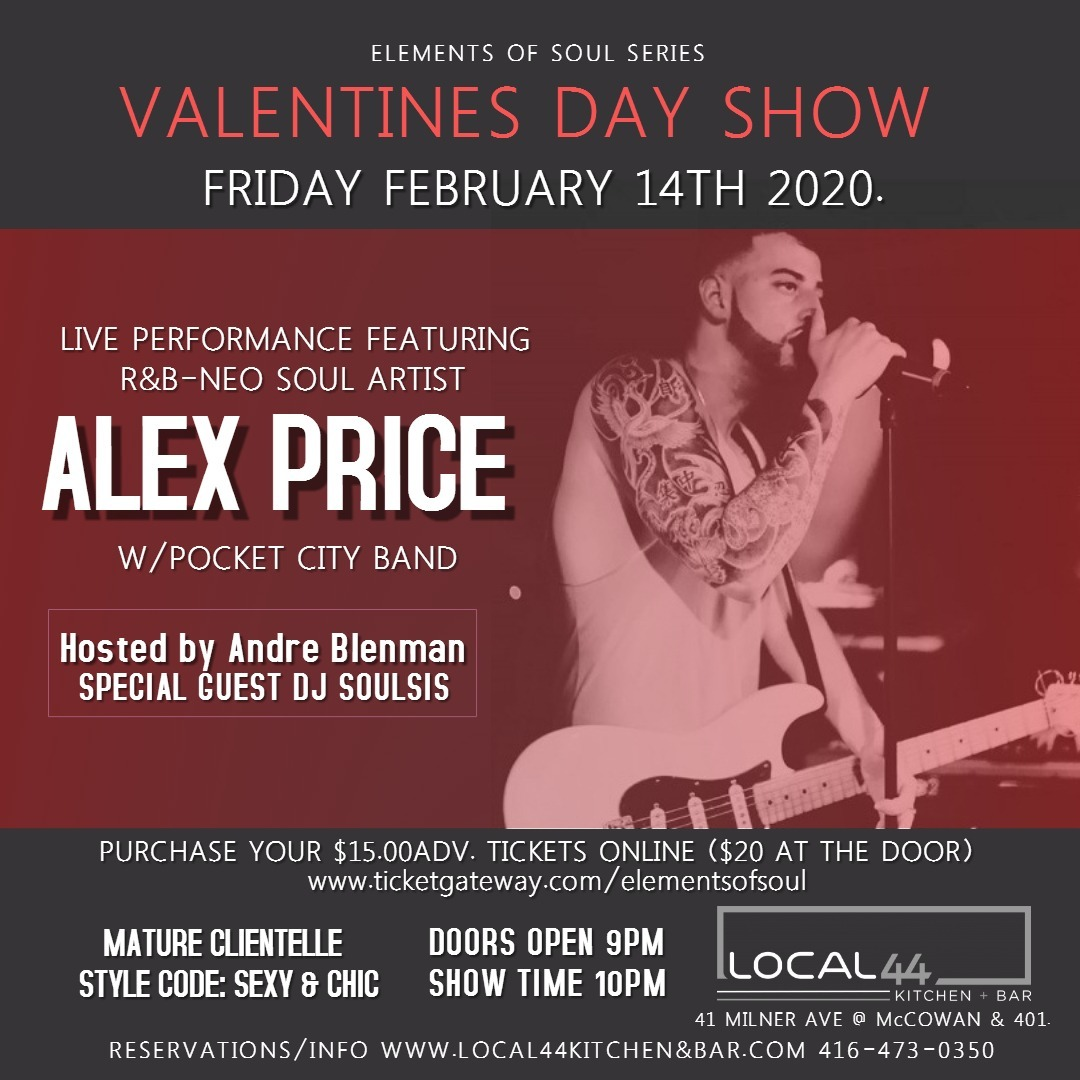 Alex Price with Pocket City Band - Elements of Soul