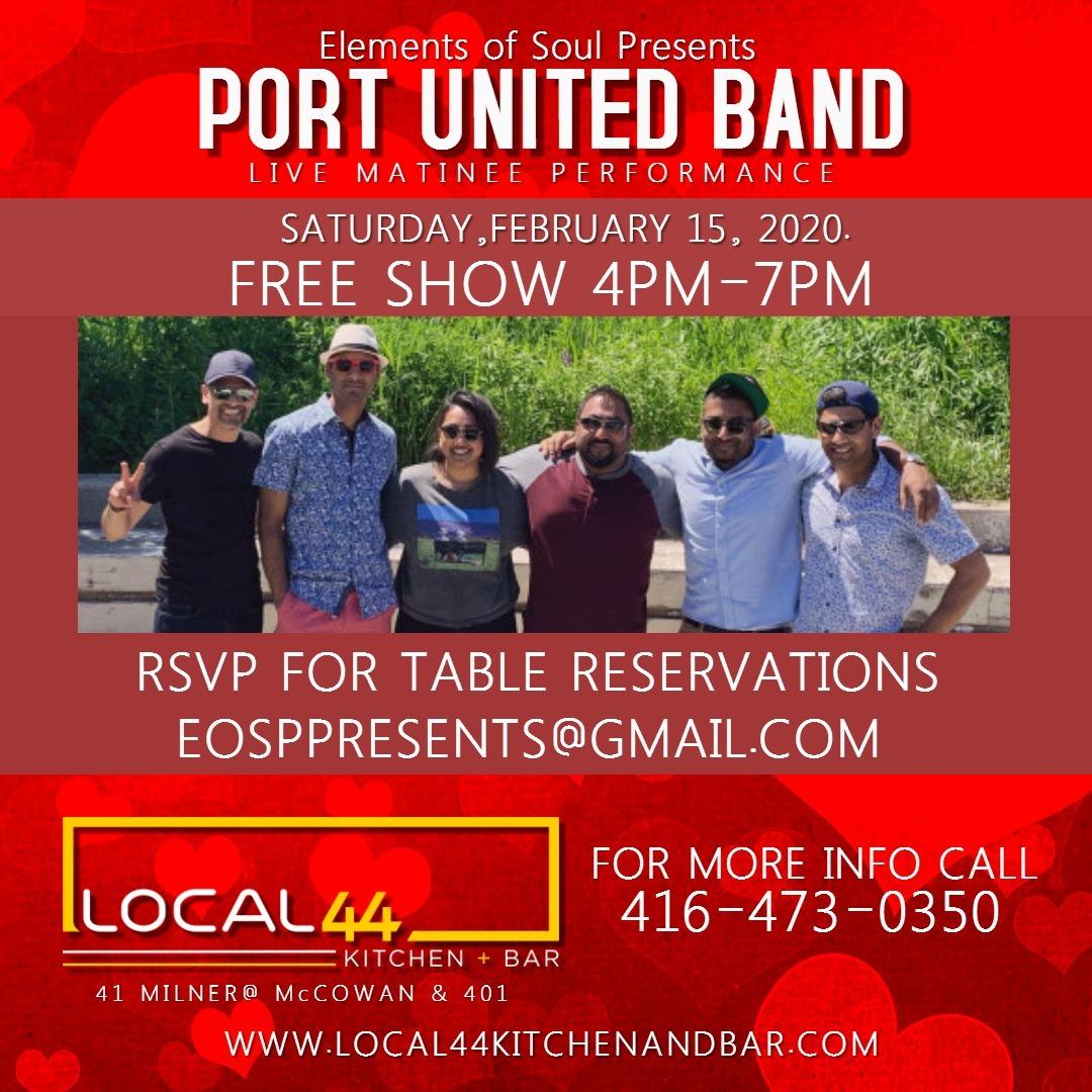 Port United Band - Elements of Soul