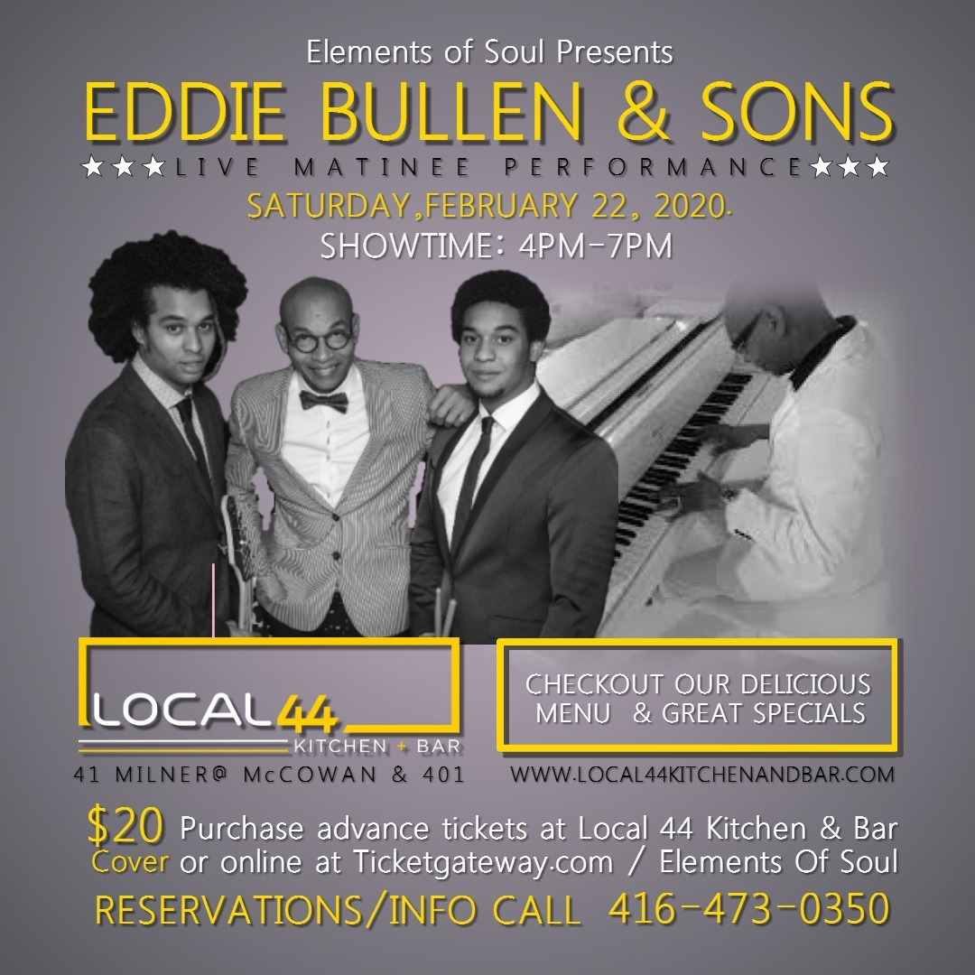 Eddie Bullen and Sons - Elements of Soul