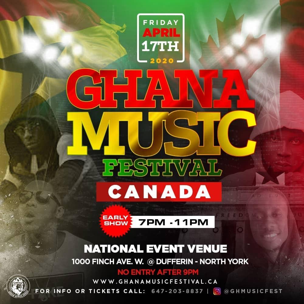 Ghana Music Festival Canada