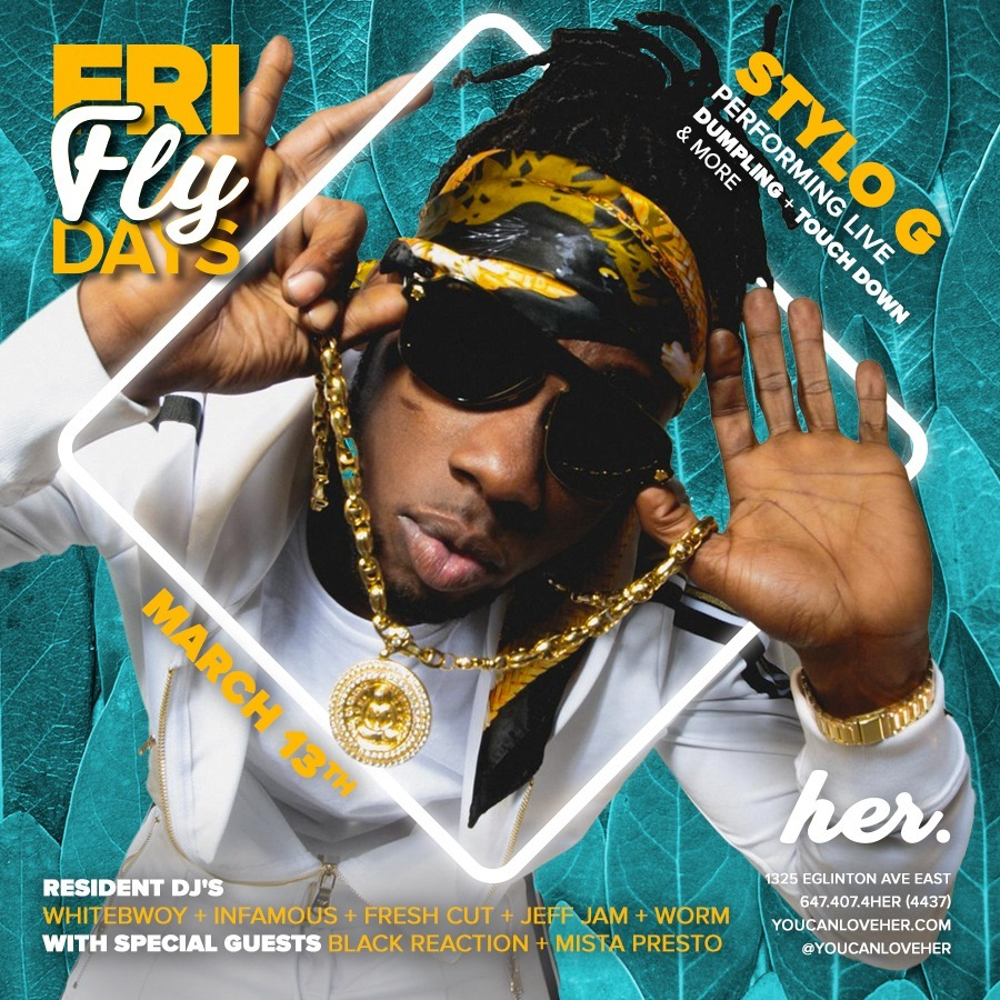 Fly Fridays - Stylo G Performing Live