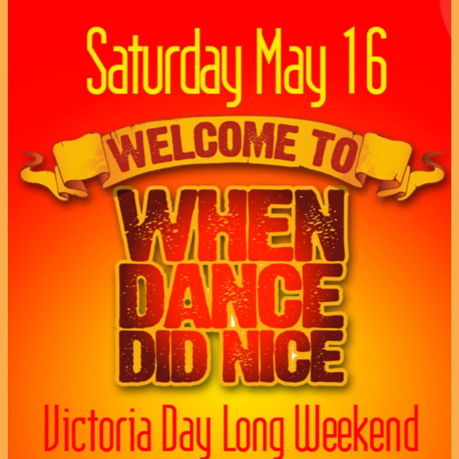 When Dance Did Nice