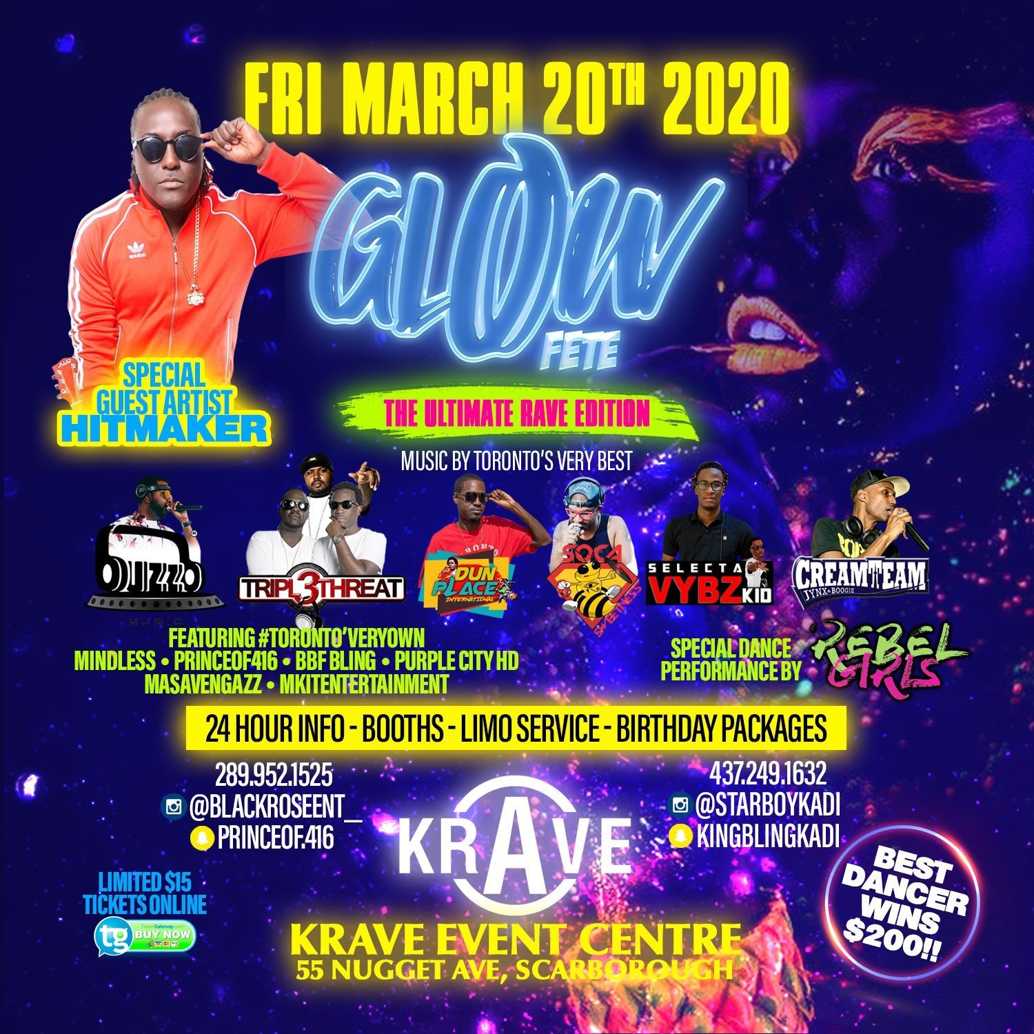 Glow Fete: The Ultimate Rave Edition