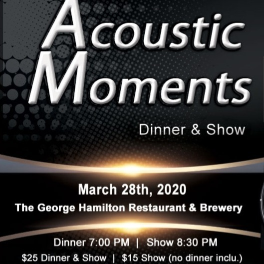 Acoustic Moments Dinner & Show