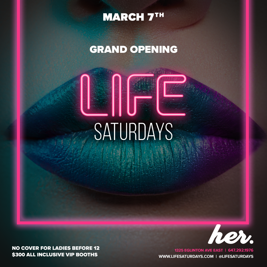 Life Saturdays - Grand Opening Of Her.