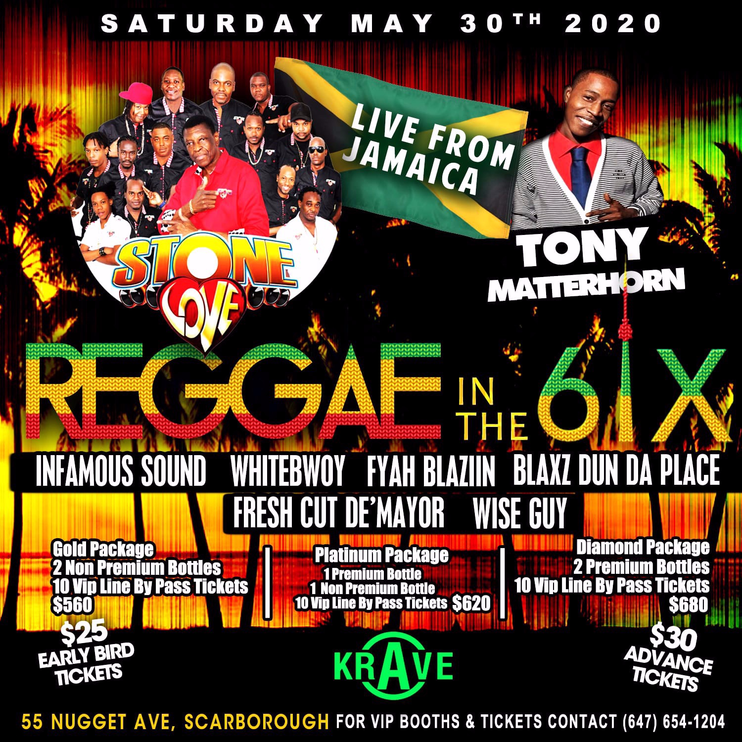 REGGAE IN THE 6IX FEAT. STONE LOVE & TONY MATTERHORN