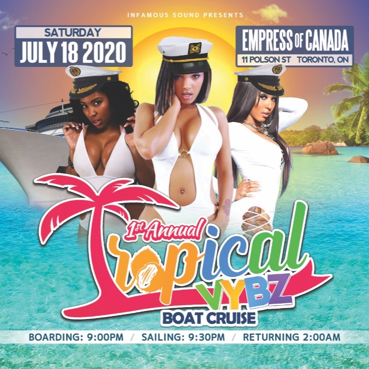 TROPICAL VYBZ BOAT CRUISE