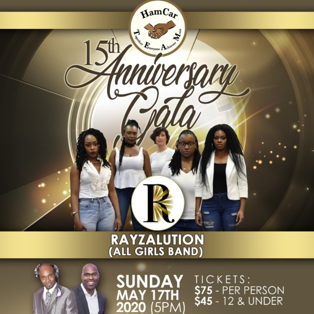 15th Anniversary Gala with Rayzalution (All Girls Band)