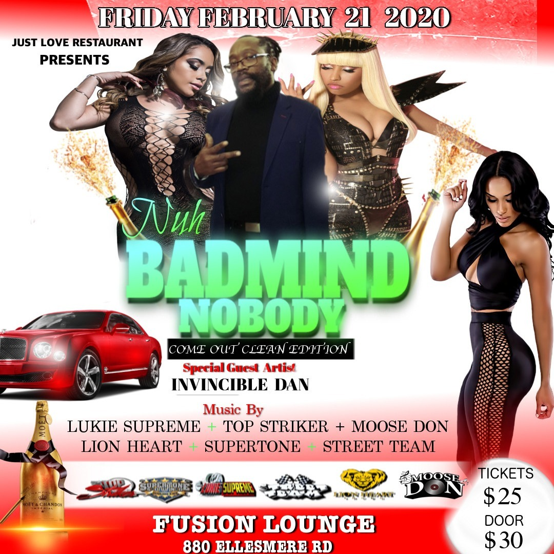 Nuh Badmind Nobody - Come Clean Edition