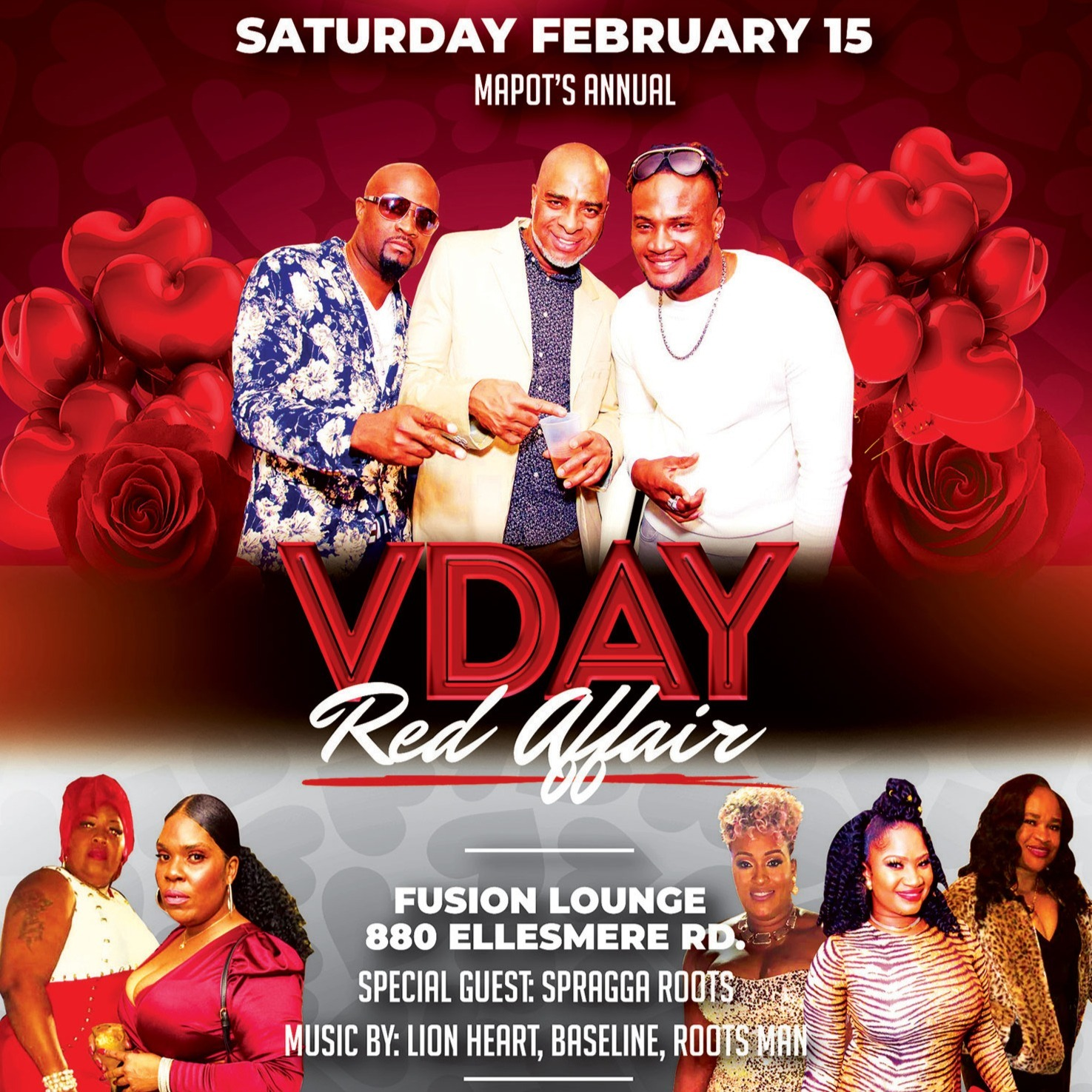 Mapot's Annual V-DAY Red Affair