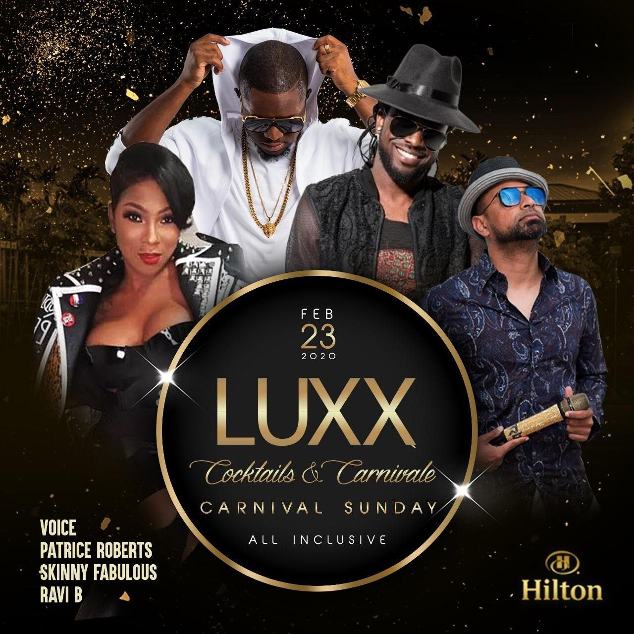 LUXX 2020 - The Ultimate Carnival Sunday All Inclusive Event