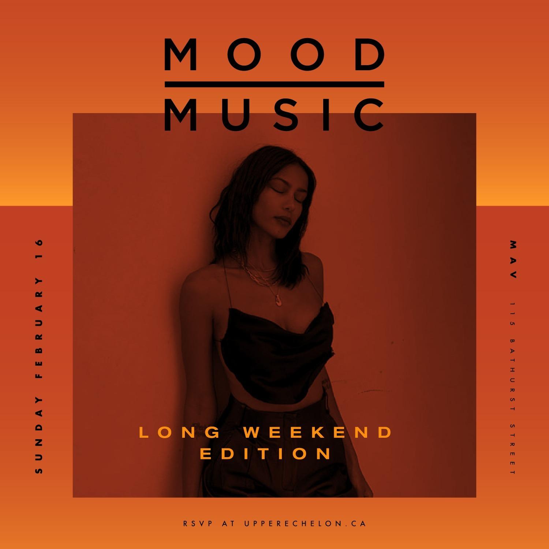 MOOD MUSIC   Long Weekend Sunday