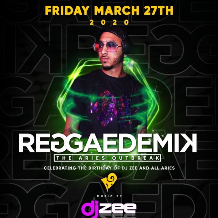 REGGAEDEMIK - DJ ZEE ARIES EDITION