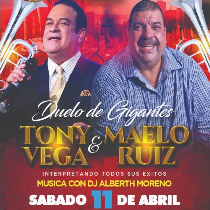 TONY VEGA & MAELO RUIZ - Duelo de Gigantes
