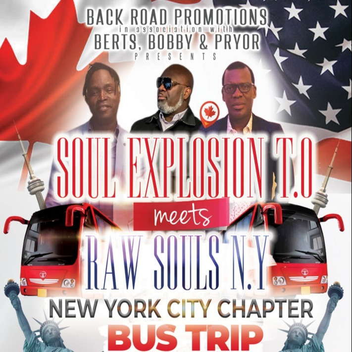 Bus Trip - NY City Chapter  - SOUL Explosion T.O meets Raw Souls NYC