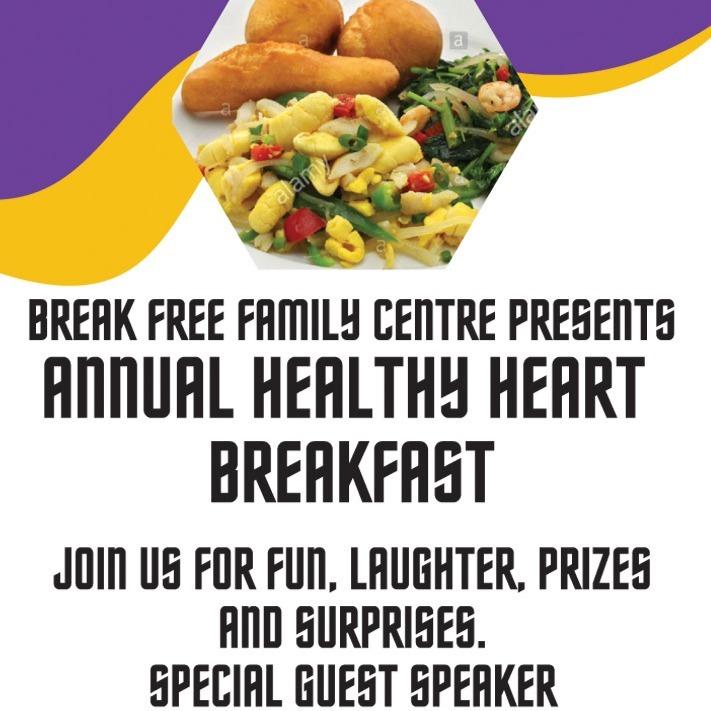Break Free Family Centre - Healthy Heart Breakfast
