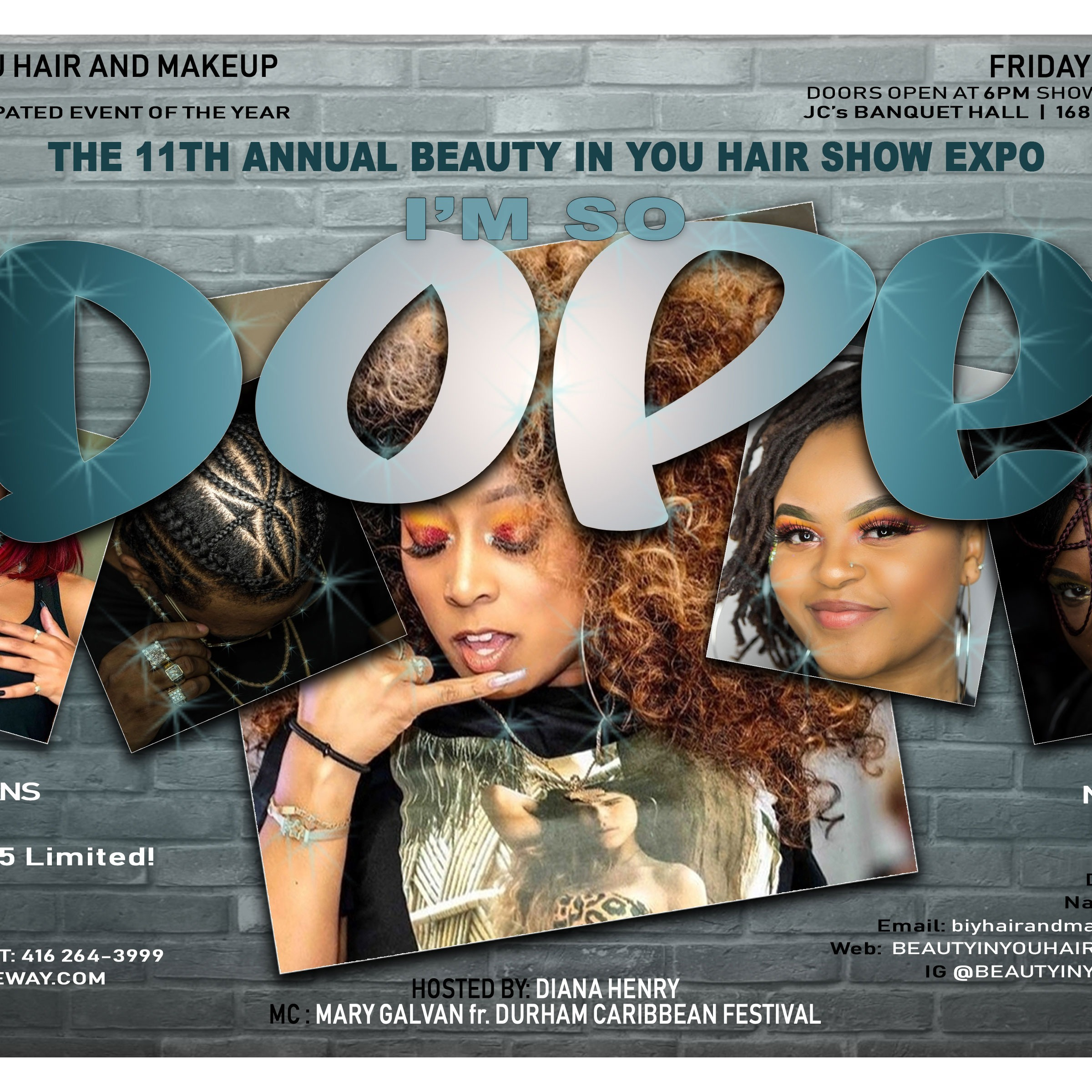 I'm So Dope - Beauty in You Hair Show expo
