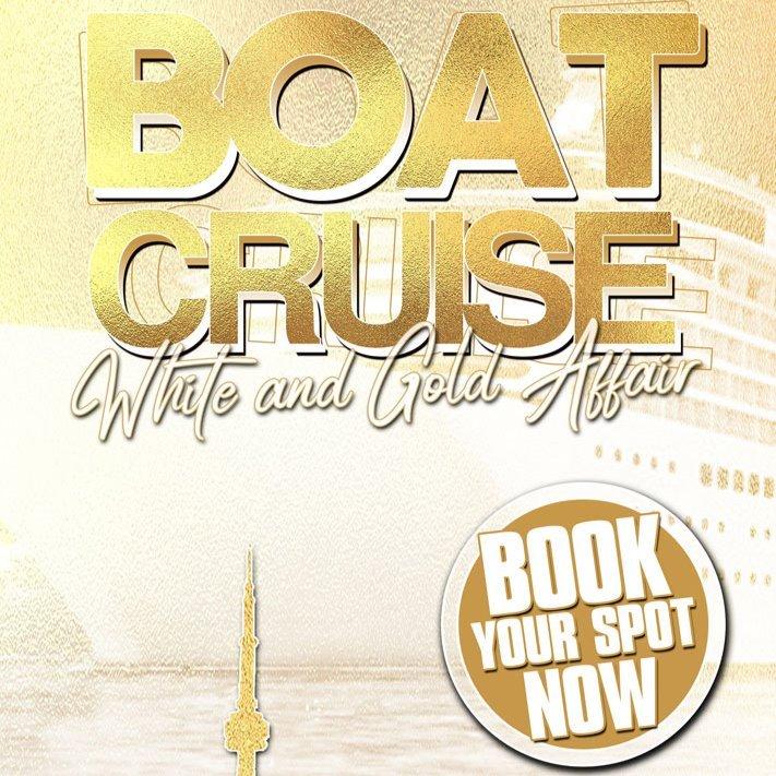 Boat Cruise - White & Gold Affair