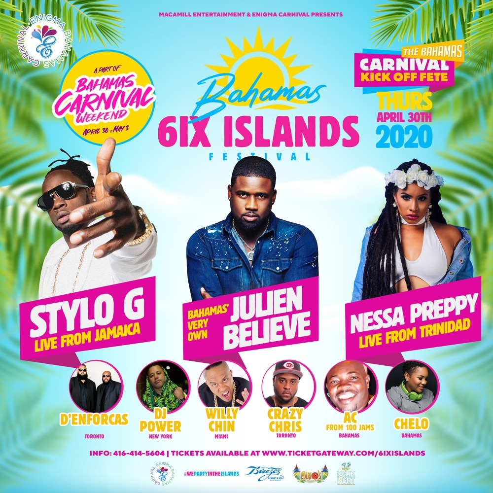 The Bahamas 6IX ISLANDS FESTIVAL
