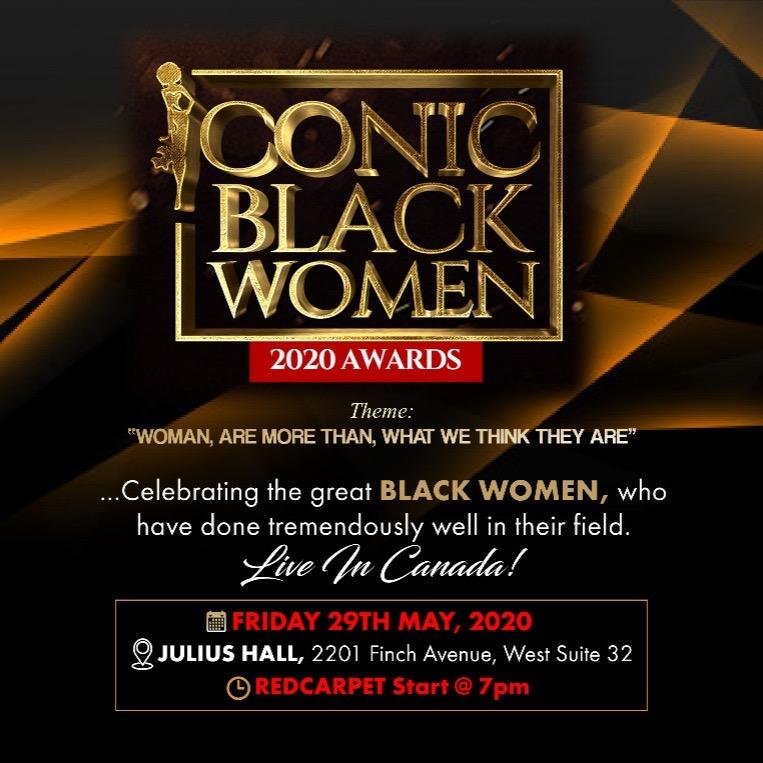 ICONIC BLACK WOMEN AWARDS 2020