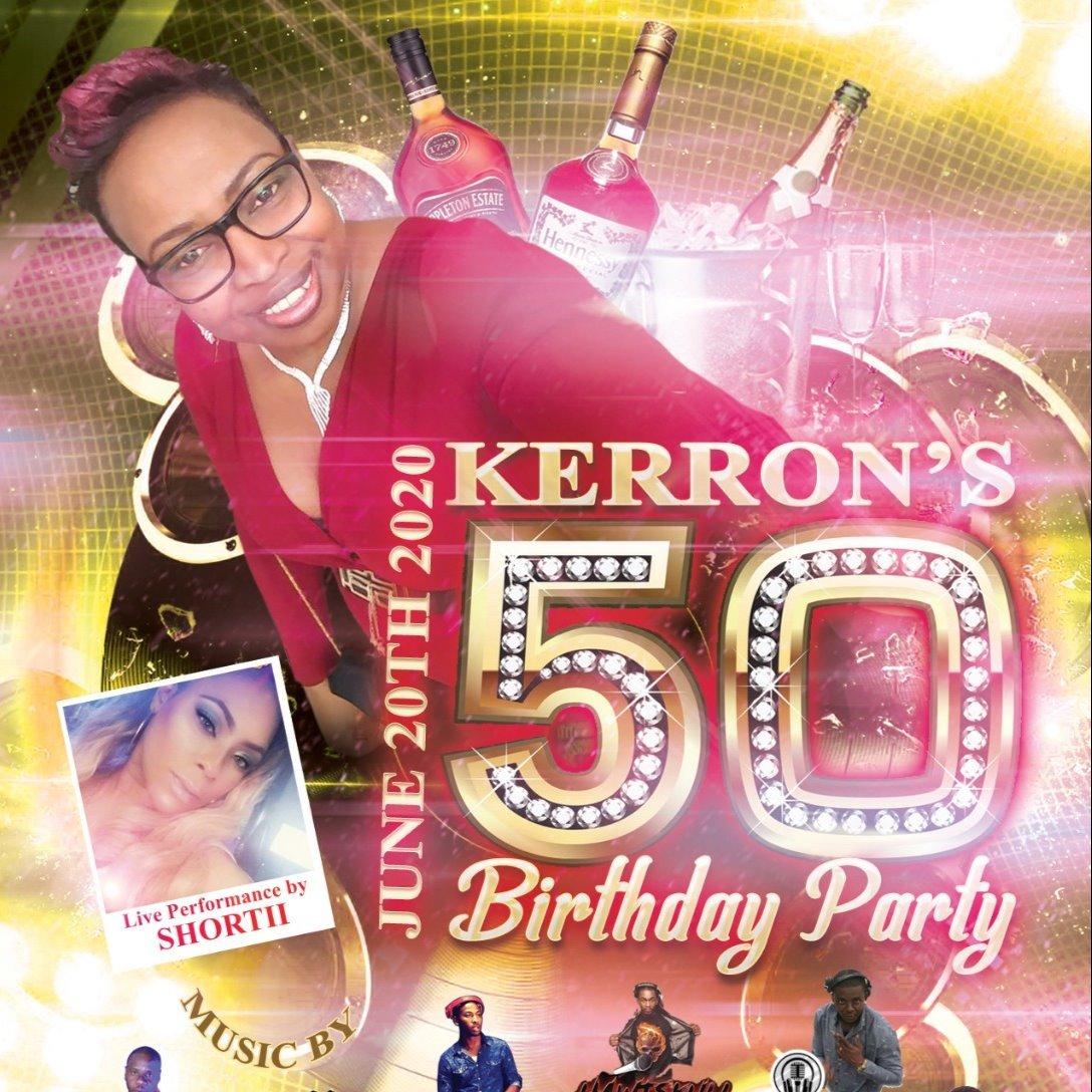 Kerron's 50th Birthday