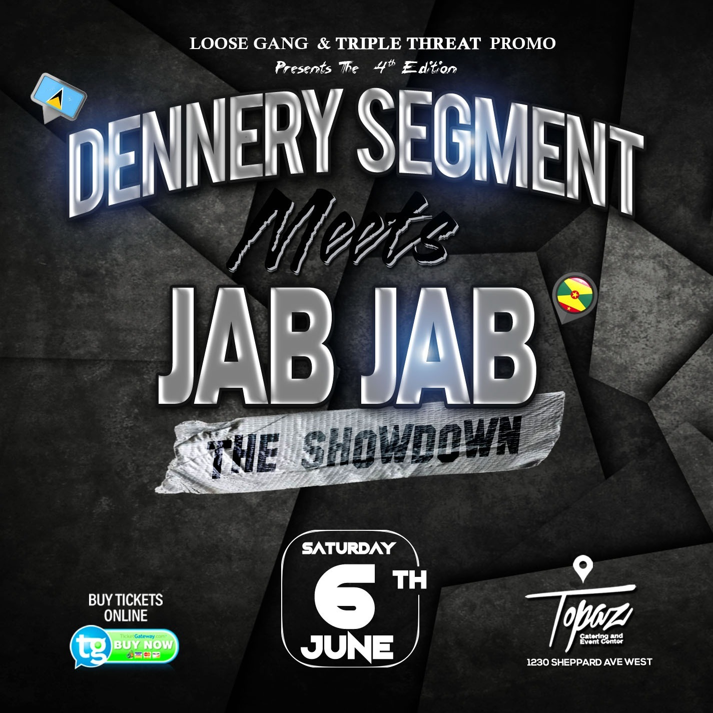 DENNERY SEGMENT MEETS JAB JAB 4th Edition