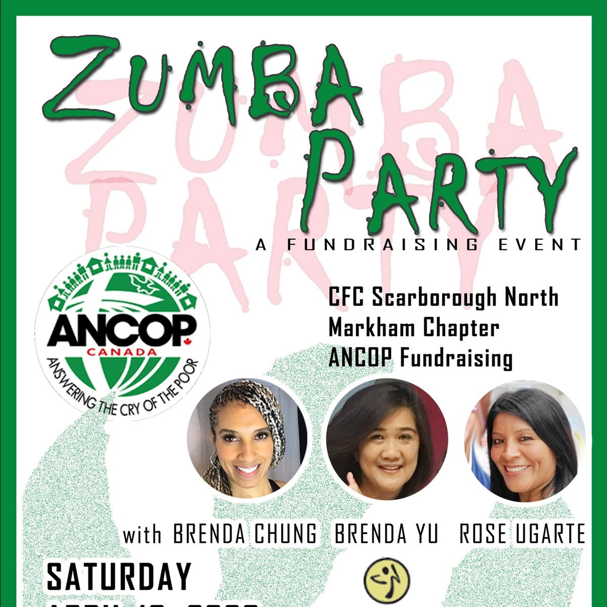 ANCOP - ZUMBA FUNDRAISING EVENT