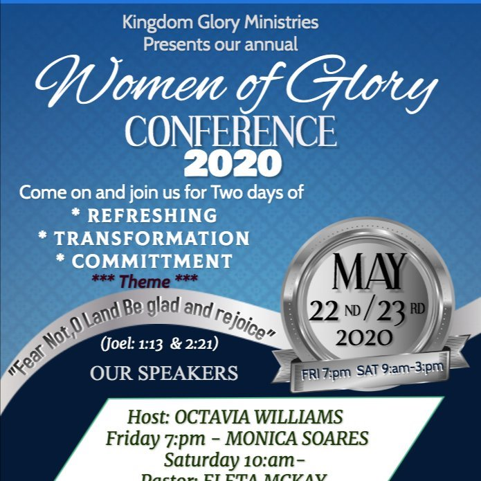 WOMEN OF GLORY CONFERENCE 2020 -  Kingdom Glory Ministry