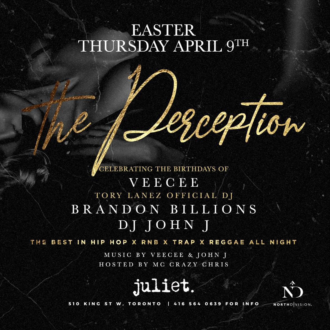 PERCEPTION EASTER THURSDAY @JULEIT