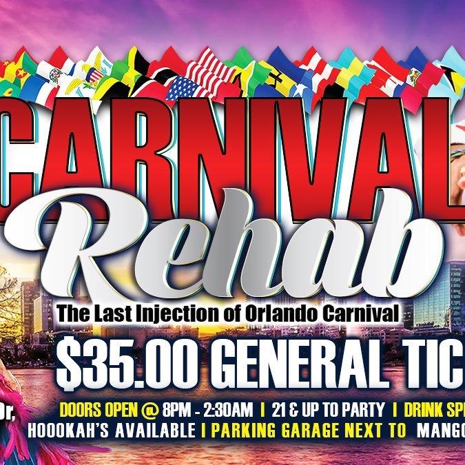 Carnival Rehab - Orlando