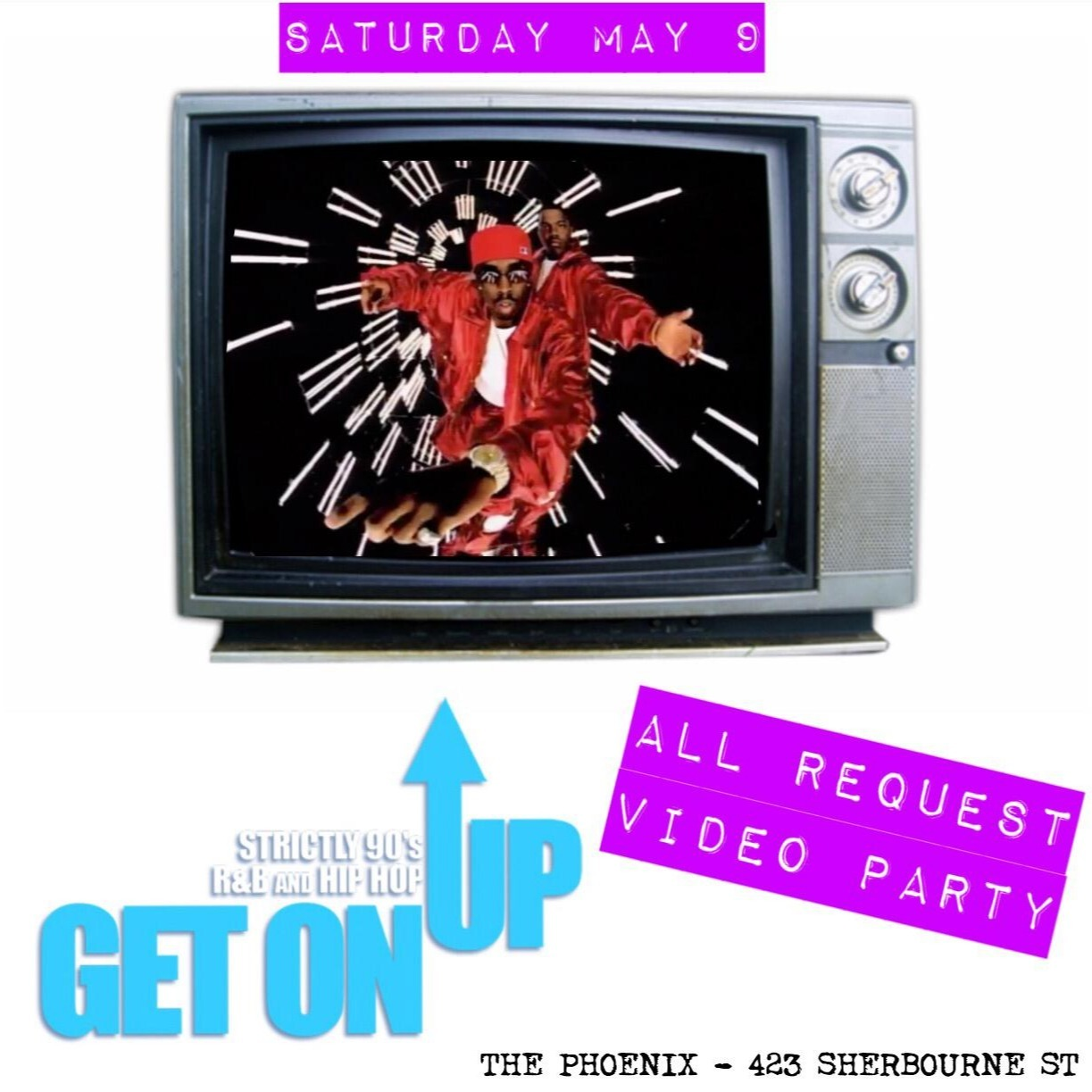 Get On Up - All Request Video Party ~ MAY 9th