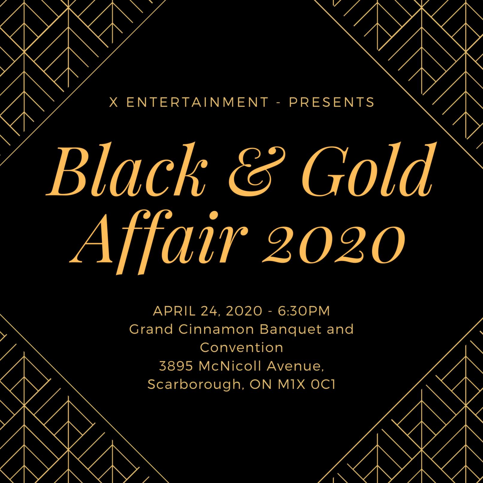Black & Gold Affair 2020