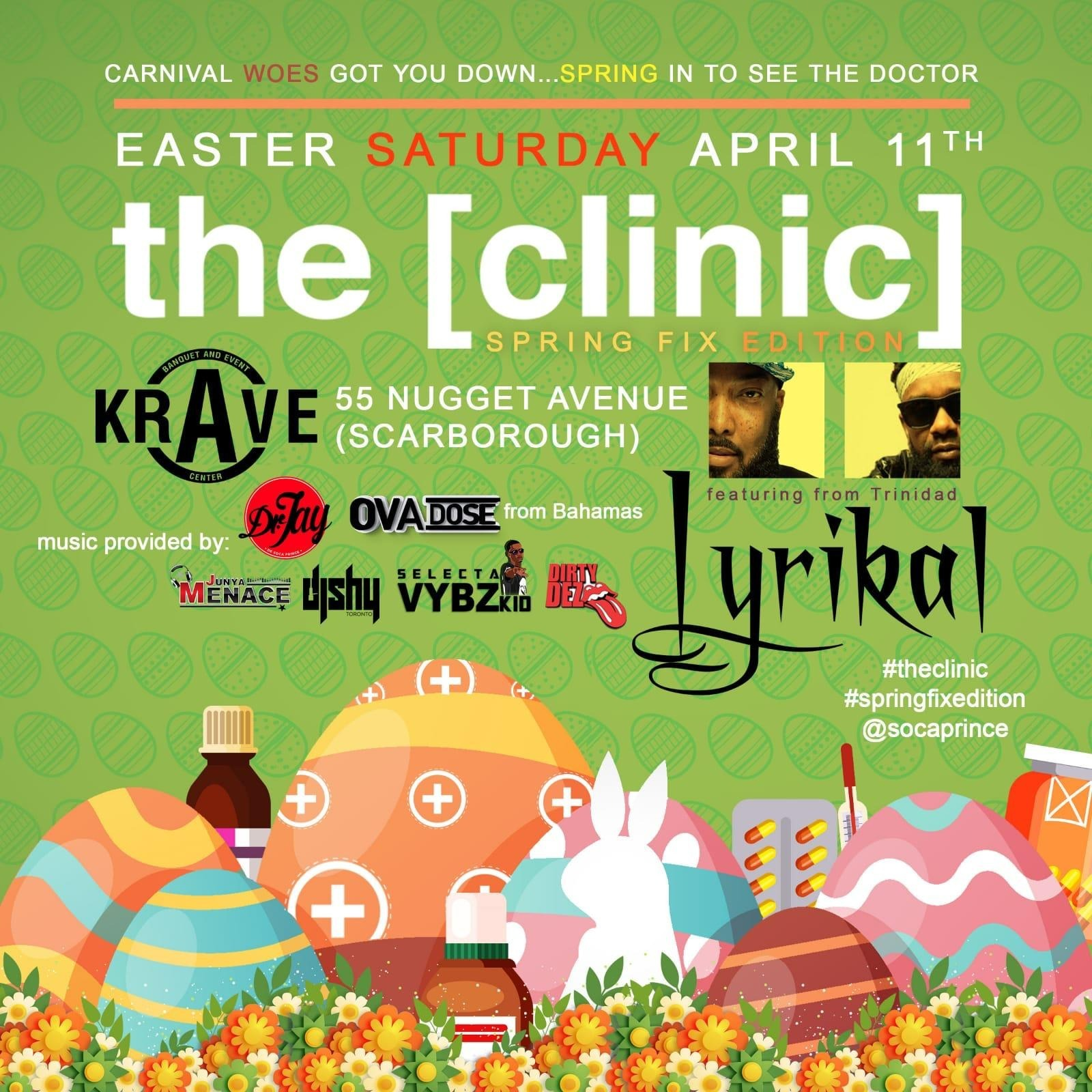 The Clinic - Spring Edition