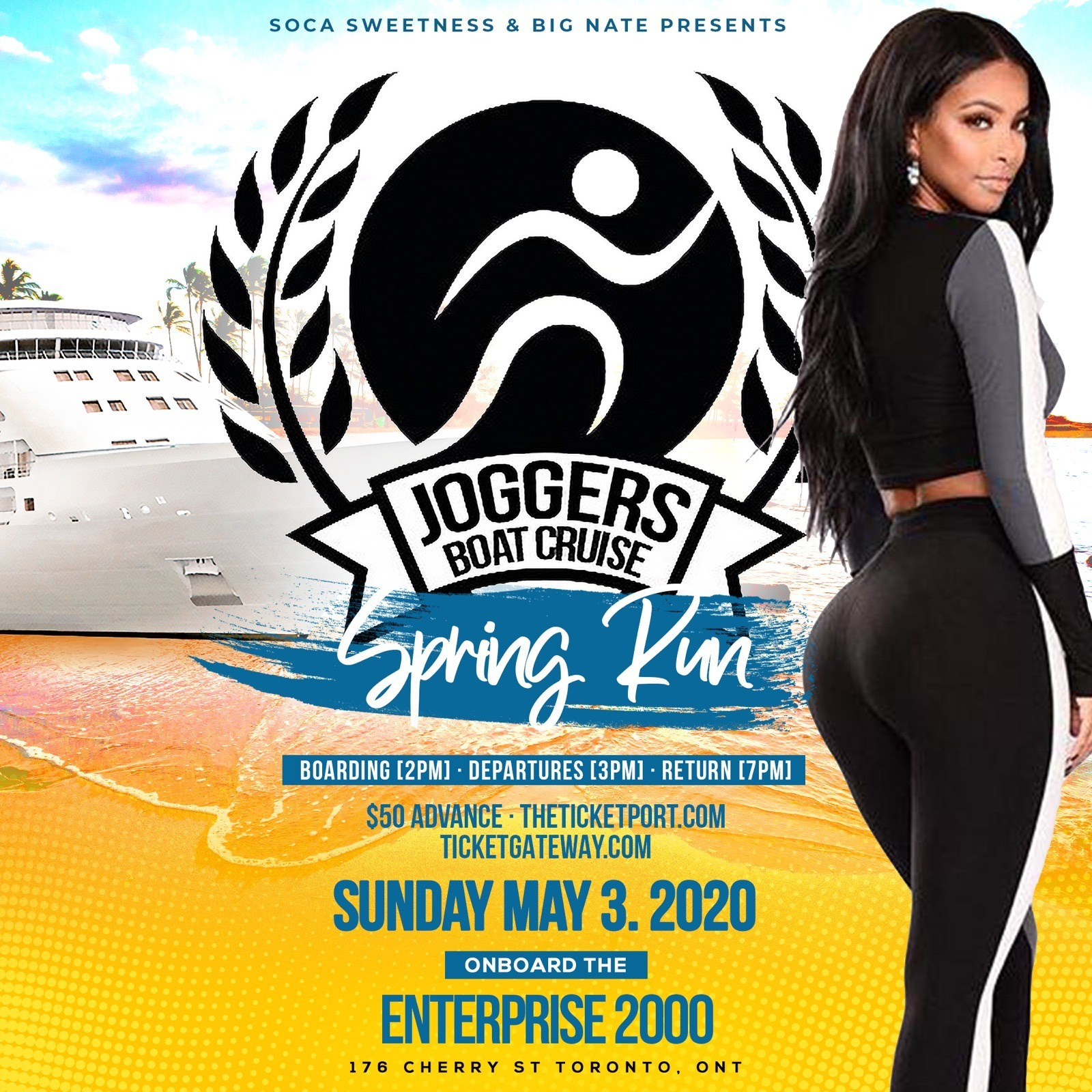 Joggers Boat Cruise - Spring Run 2020