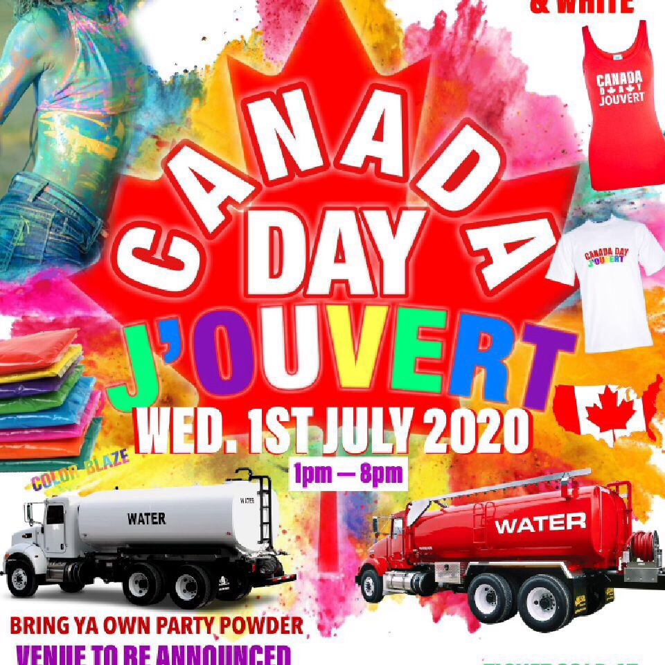 CANADA DAY JOUVERT BORN TO FETE