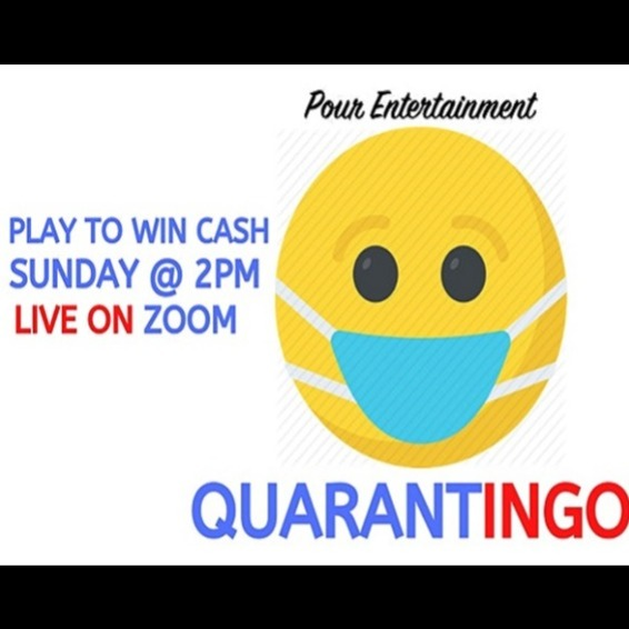 QUARANTINGO! Virtual Music Bingo w/ Pour Entertainment