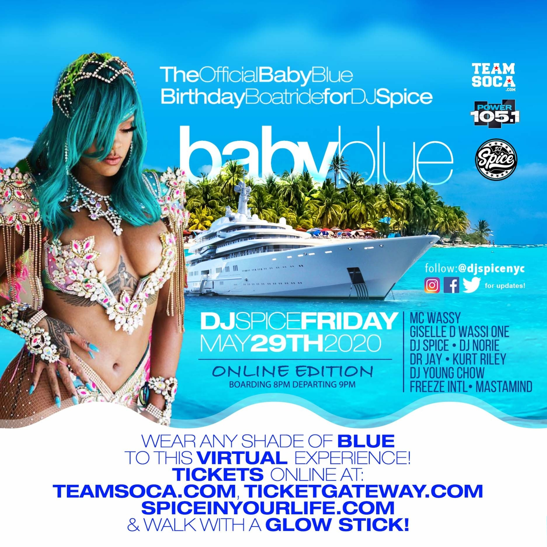 The Official DJ Spice Birthday Boatride