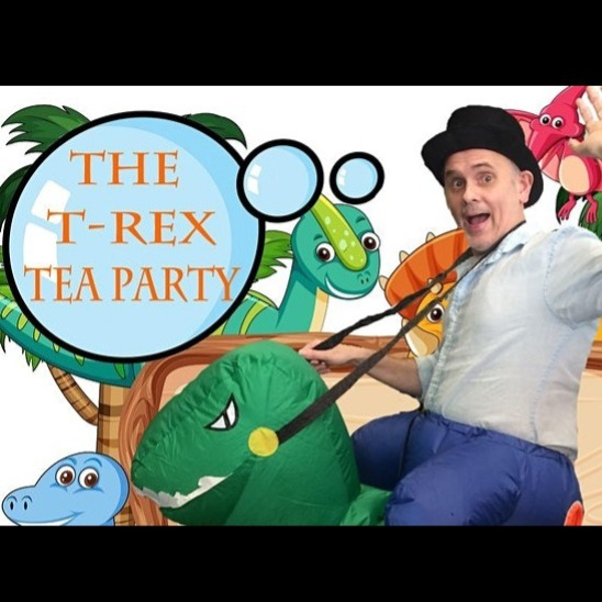 School Holiday Program: Carp Productions - The T-Rex Tea Party