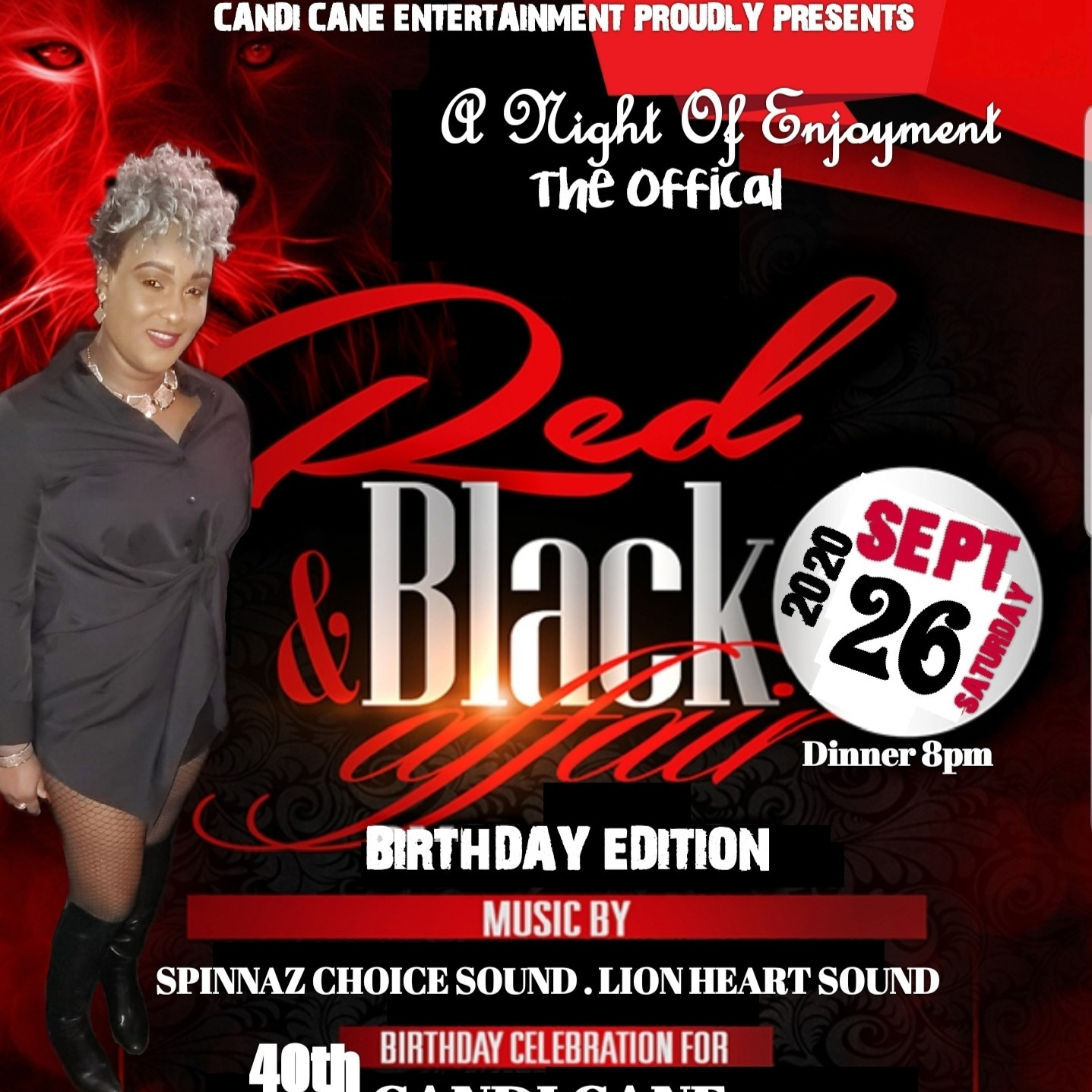 Red and Black Affair - Birthday Edition