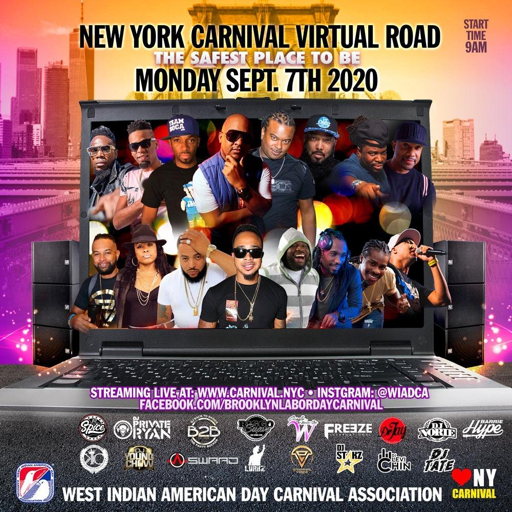 Virtual Road 2020 : NY Carnival