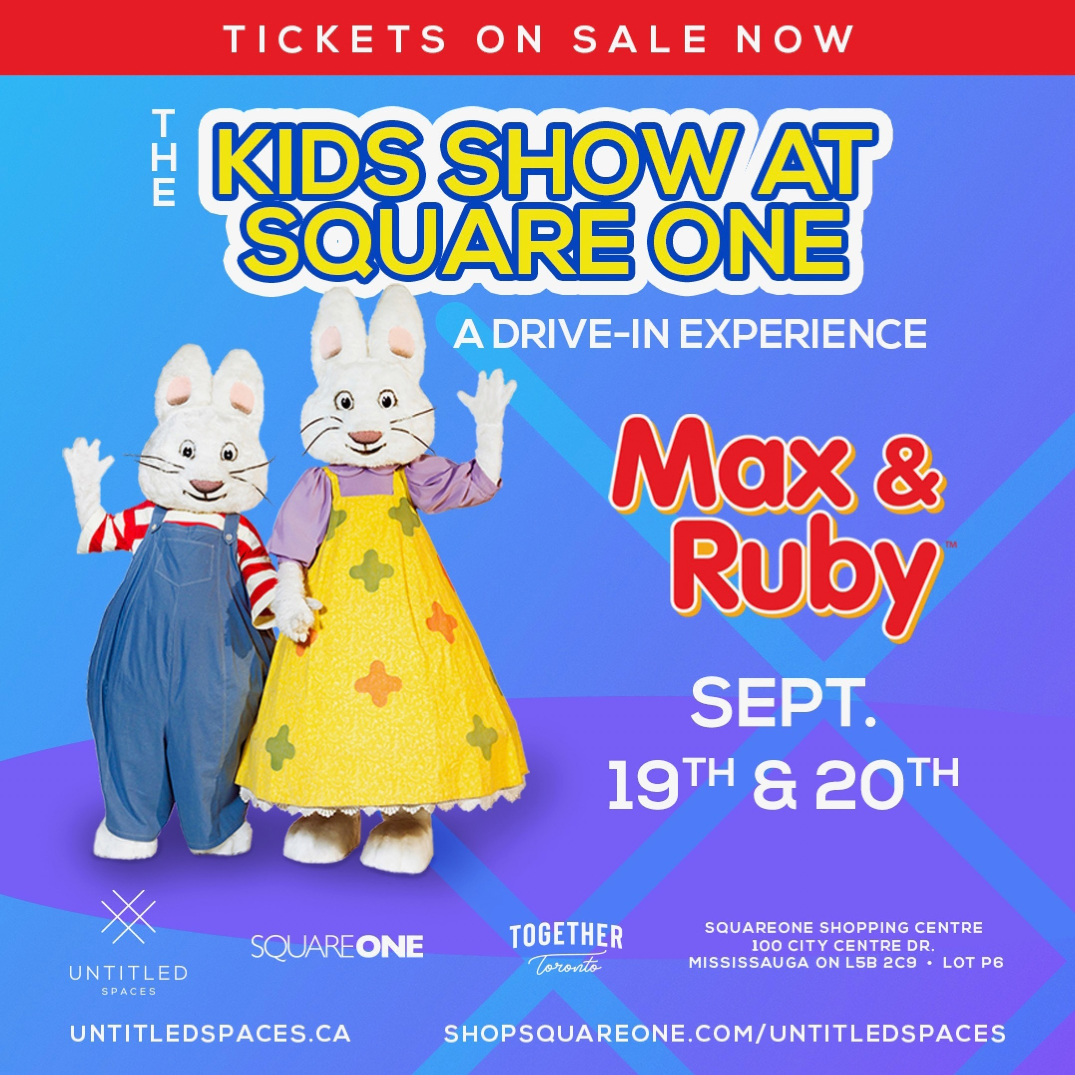 Max & Ruby - September 19 - 1:00 PM