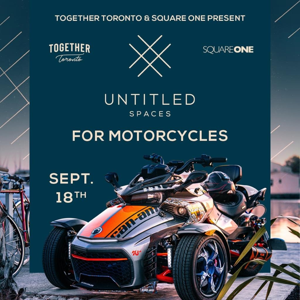 UNTITLED SPACES FOR MOTORCYCLES
